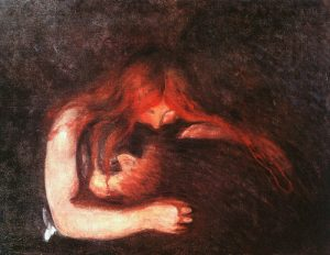 """The Vampire"" by Edvard Munch"