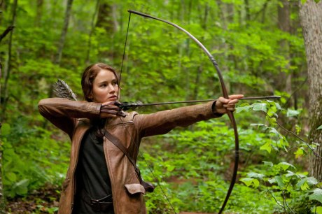 Katniss photo by Murray Close/Lions Gate