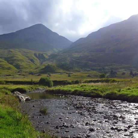 The crew is filming in Scotland. Photo courtesy of  Outlander_Starz